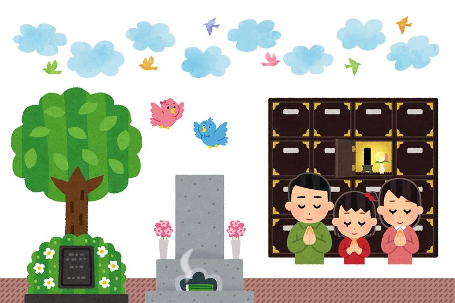 お墓の種類・タイプ別の特徴